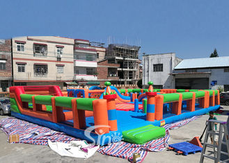 Big Bounce Kids And Adults Blow Up Theme Park For Indoor Inflatable Playground Fun