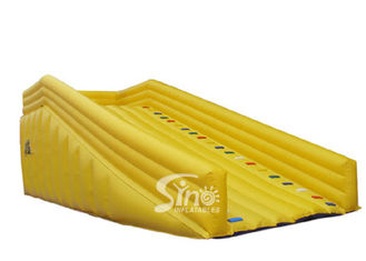 Extreme human zorb ball inflatable ramp slope with 0.55mm pvc tarpaulin material