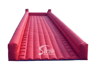 Commercial grade giant steep inflatable zorb ball ramp slope for zorb ball rolling